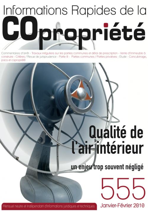 IRC 555 - Janvier Fevrier 2010