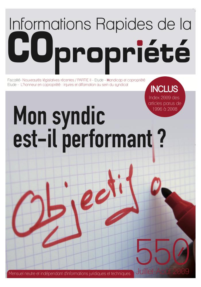 IRC 550 - Juillet Aout 2009