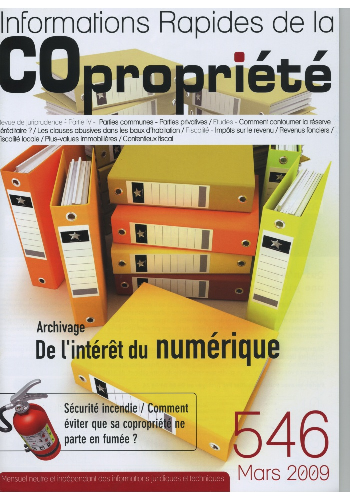 IRC 546 - Mars 2009