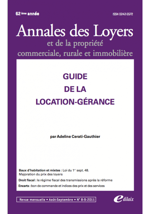 Guide de la location-gérance
