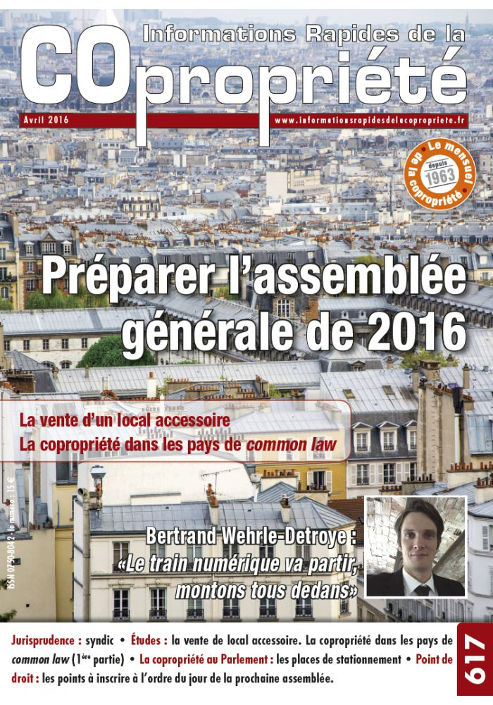 IRC 617 - Avril 2016