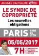 Vendredi 5 mai 2017 - syndic de copropriété : les nouvelles obligations