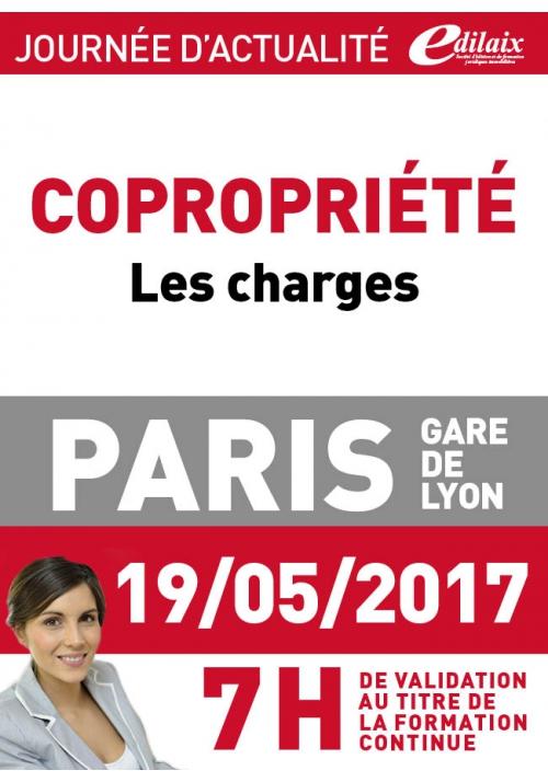 Vendredi 19 mai 2017 - Copropriété Les charges