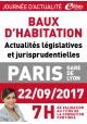 Vendredi 22 septembre 2017 - Baux d'habitation Actualités législatives et jurisprudentielles
