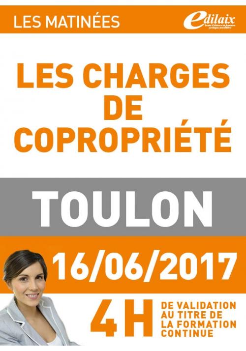 Vendredi 16 juin 2017 - Les charges de copropriété