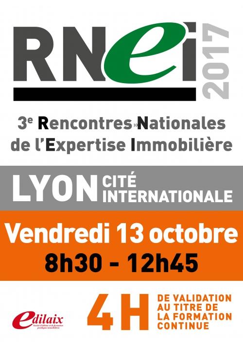 RNEI | Vendredi 13 octobre 2017 - Matinée