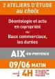ATELIERS D'ETUDE - Aix en Provence - Vendredi 9 juin 2017