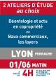 ATELIERS D'ETUDE - Lyon - Jeudi 1 juin 2017