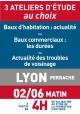ATELIERS D'ETUDE - Lyon - Vendredi 2 juin 2017