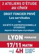 ATELIERS D'ETUDE - Lyon - Vendredi 17 nov 2017