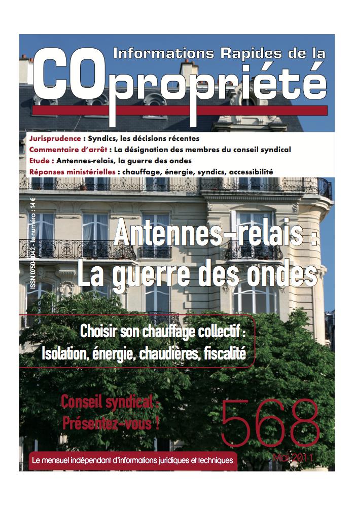 IRC 568 - Mai 2011