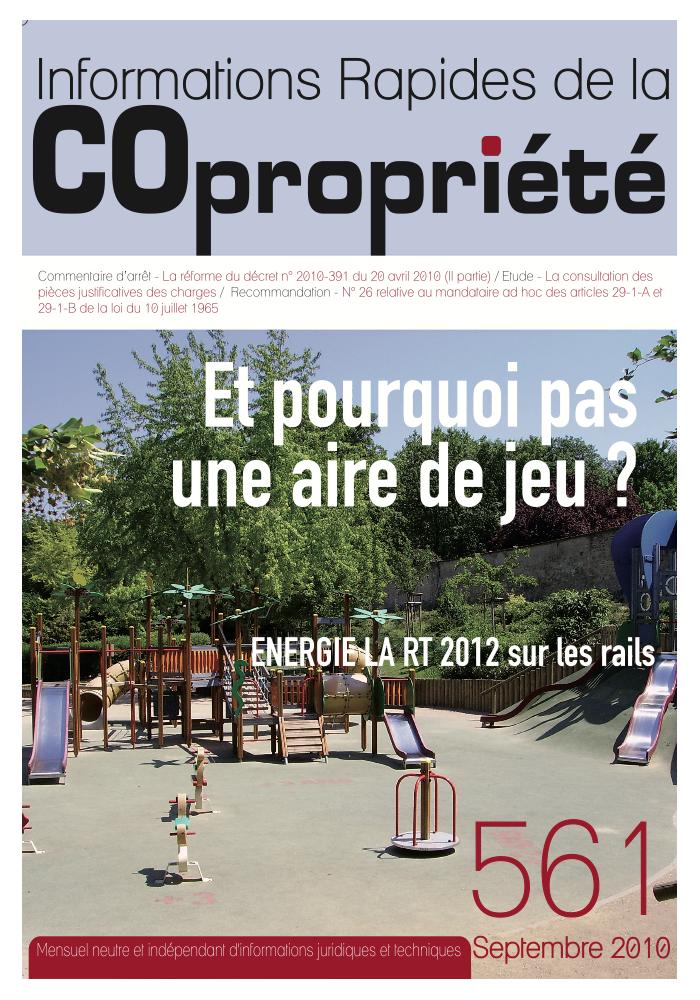 IRC 561 - Septembre 2010