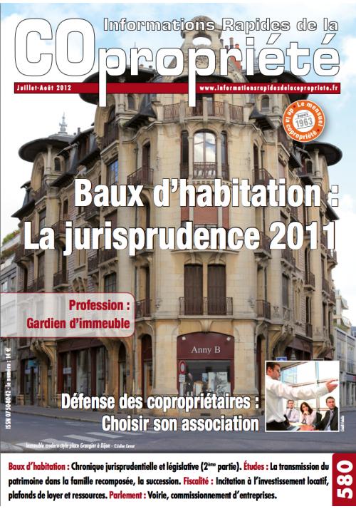 IRC 580 - Juillet Aout 2012