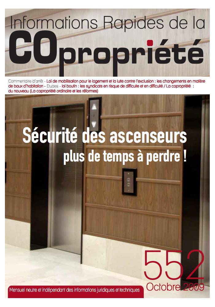 IRC 552 - Octobre 2009