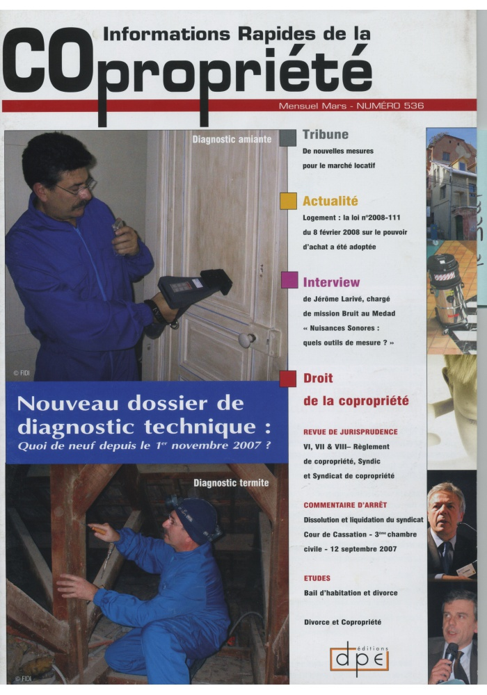 IRC 536 - Mars 2008
