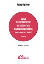 Guide du lotissement et des autres divisions foncières