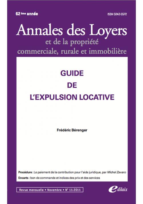 Guide de l'expulsion locative