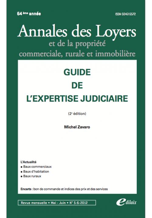 Guide de l'expertise judiciaire