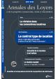 Annales des Loyers Juillet/ Août 2015