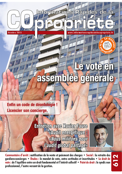 IRC 612 - Octobre 2015