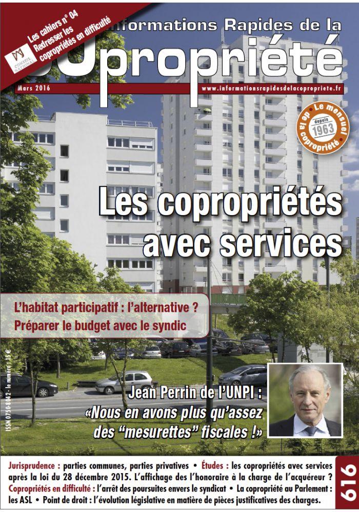 IRC 616 - Mars 2016 CCED
