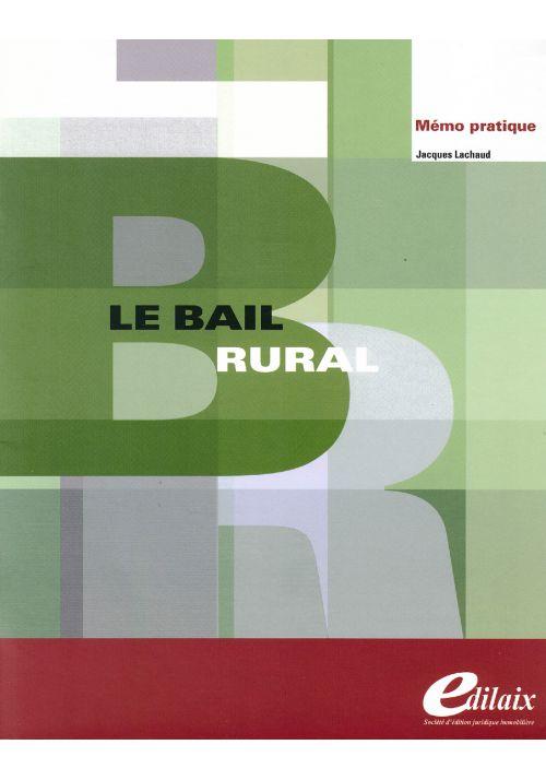 Le bail rural