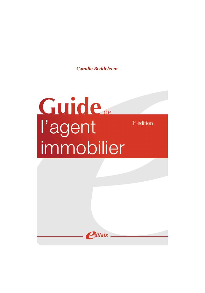 Guide de l'agent immobilier