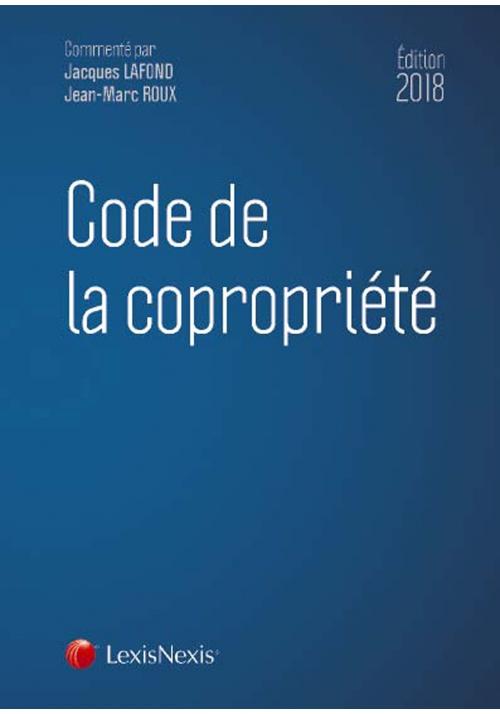 Code de la copropriété 2018 22e édition