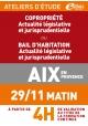 ATELIERS D'ETUDE - Aix-en-Provence - Jeudi 29 novembre 2018 - Matin