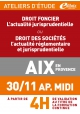 ATELIERS D'ETUDE - Aix-en-Provence - Vendredi 30 novembre 2018 - Après-midi