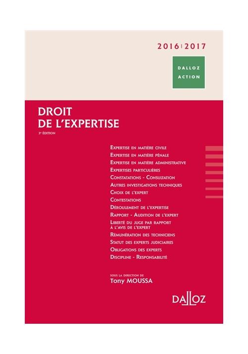 Droit de l'expertise - 3ème édition