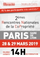 Rencontres Nationales de la Copropriété (RNCP) - Jeudi 28 et vendredi 29 mars 2019