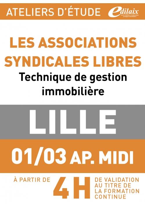 ATELIERS D'ETUDE - Lille - Vendredi 01 mars 2018 - Après-midi