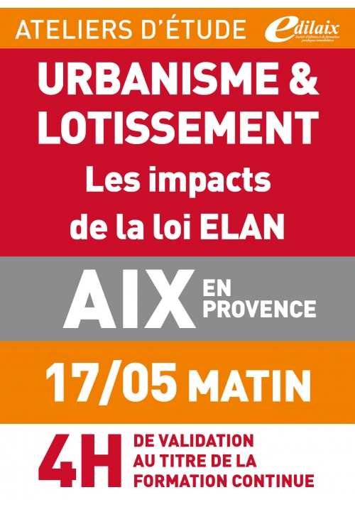ATELIERS D'ETUDE - Aix-en-Provence - Vendredi 17 mai 2019 - matin