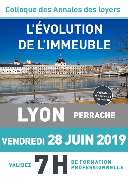 Colloque Évolution de l'immeuble - 28 juin 2019