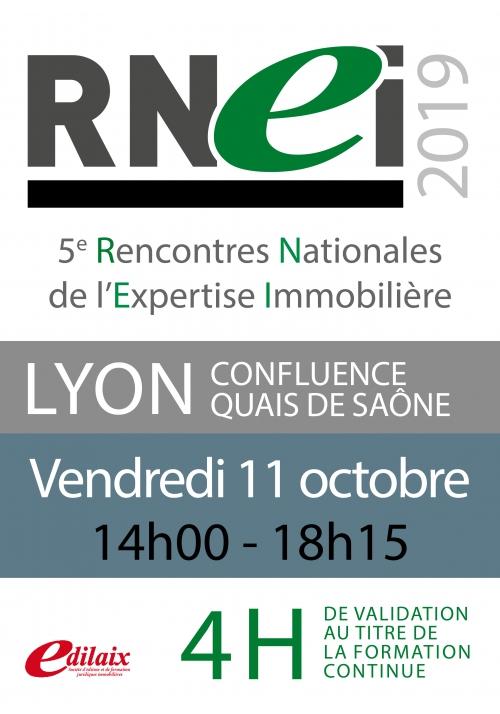 RNEI | Vendredi 11 octobre 2019 - Après-midi