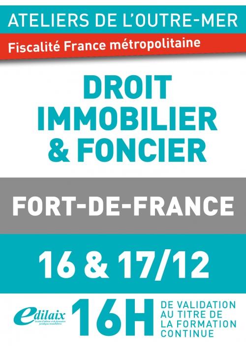 Atelier de l'outre mer - 16&17 décembre 2019 - Fort de France
