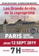 Les Grands Arrêts de la copropriété - 12 septembre 2019
