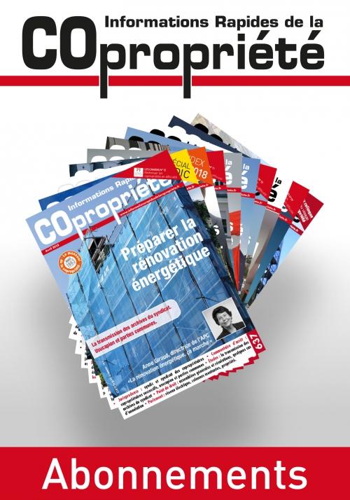 Abonnement - Informations Rapide de la Copropriété - 2020