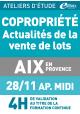 Actualités : vente de lots - Jeudi 28 novembre 2019 - ATELIERS D'ETUDE - Aix-en-Provence