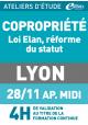 Copropriété et la réforme du STATUT - Jeudi 28 novembre 2019 - ATELIERS D'ETUDE - Lyon
