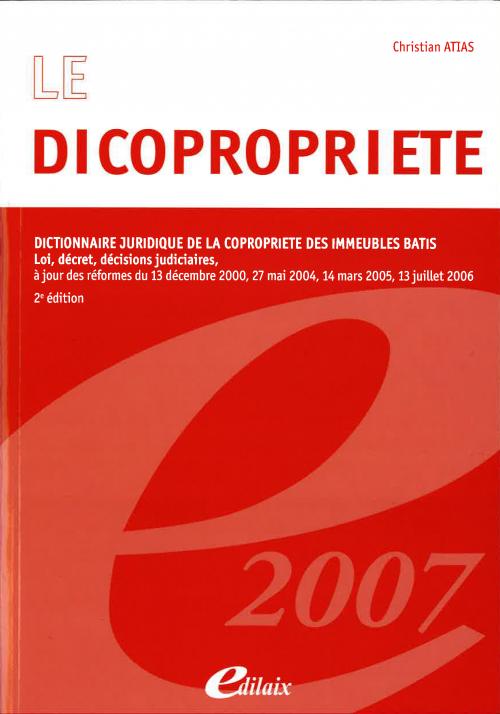 Le dicopropriété - 2ème édition