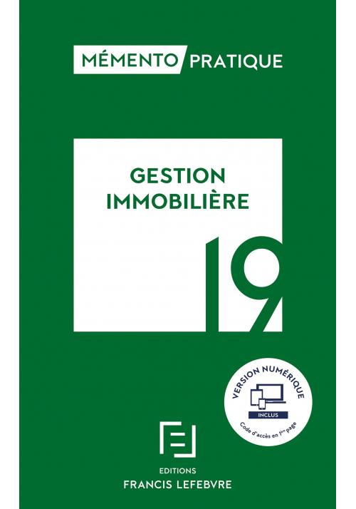Memento gestion immobilière 2019