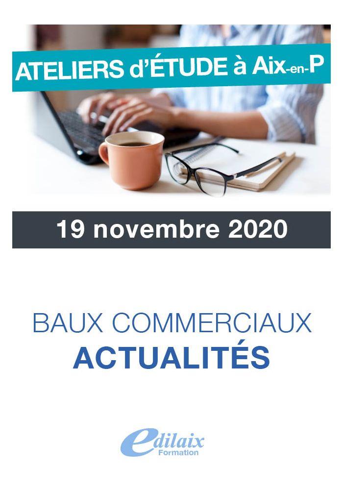 Baux commerciaux : actualité
