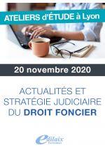 Actualités et stratégie judiciaire du droit foncier
