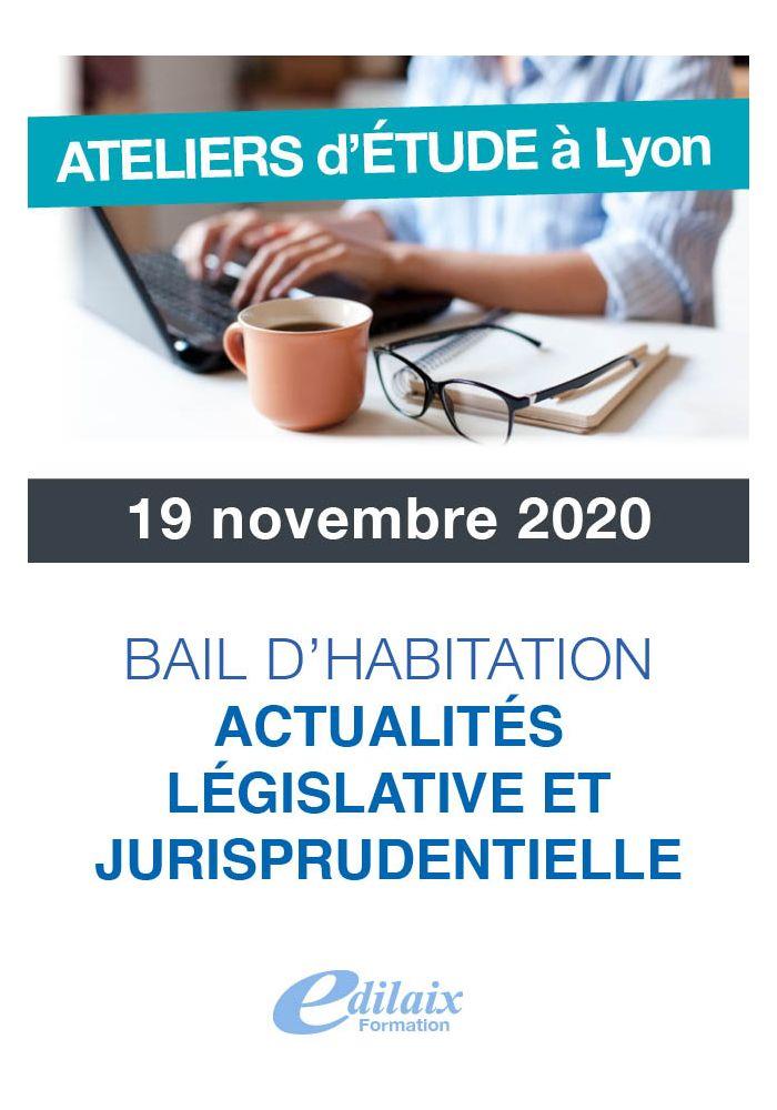 Bail d'habitation Actualités législative et jurisprudentielle