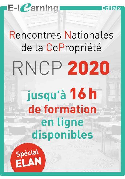 Rencontres Nationales de la Copropriété (RNCP)