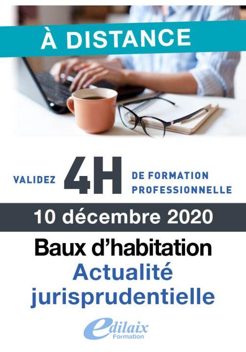 Actualités - Baux d'habitation