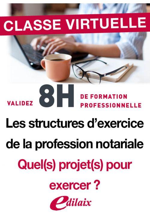 Les structures d'exercice de la profession notariale : quel(s) projet(s) pour exercer ?