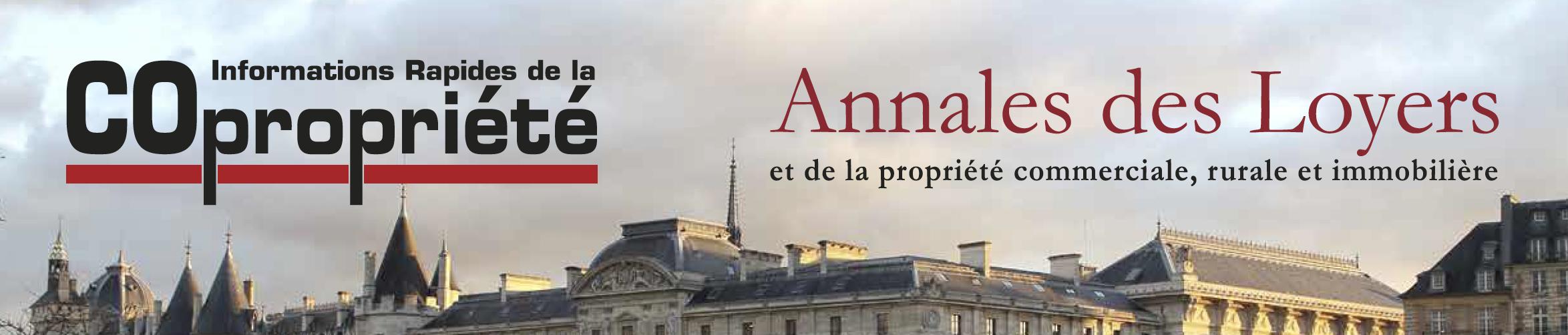 Formation Grands arrets Copropriété 2020